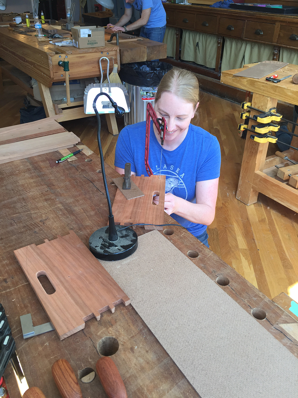 this hidden covington woodworking shop is kind of a big deal