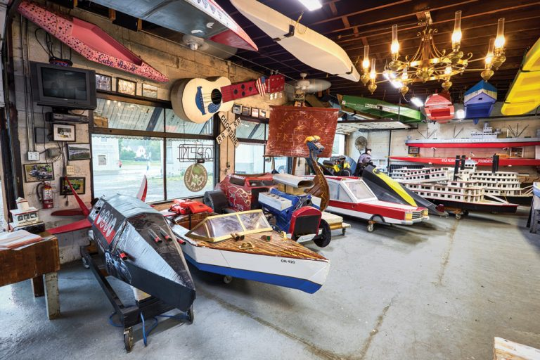 The World's Only Museum Dedicated to Cardboard Boats Is in New Richmond