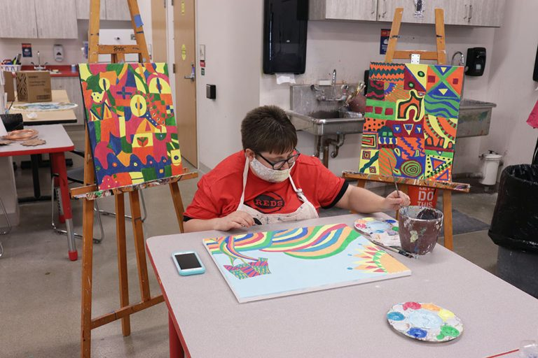 Artists of All Abilities Can Learn—and Earn—at InsideOut Studio