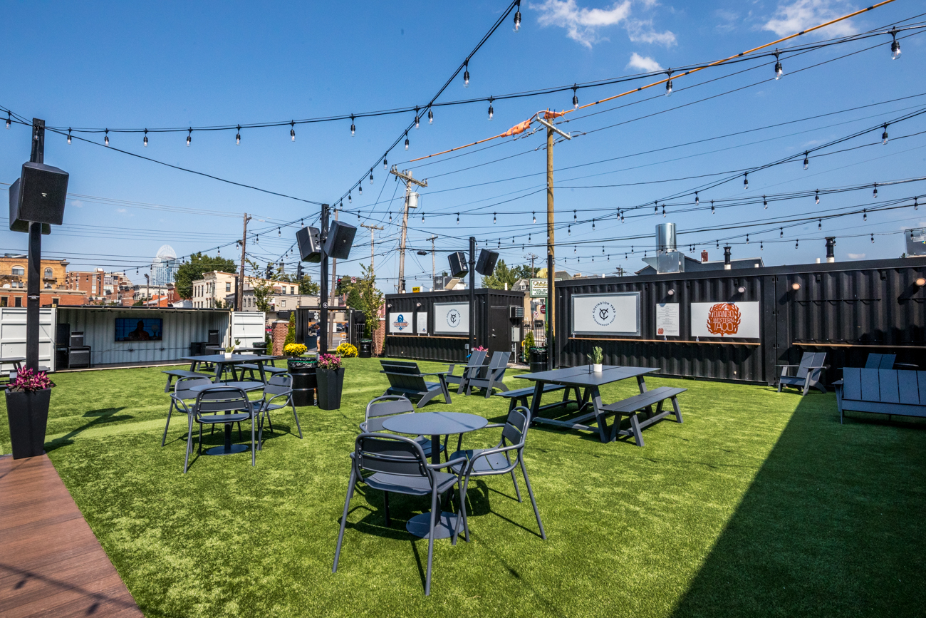 This Shipping Container Beer Garden And Food Court Wants To Be Covington S Front Lawn Cincinnati Magazine
