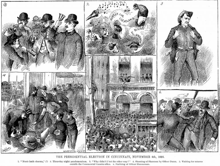 Cincinnati's 1884 Election Was a Real Riot