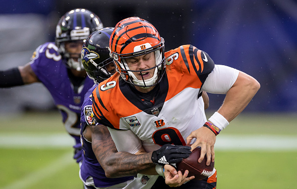 Burrow's Baltimore Beatdown Was a Nightmare