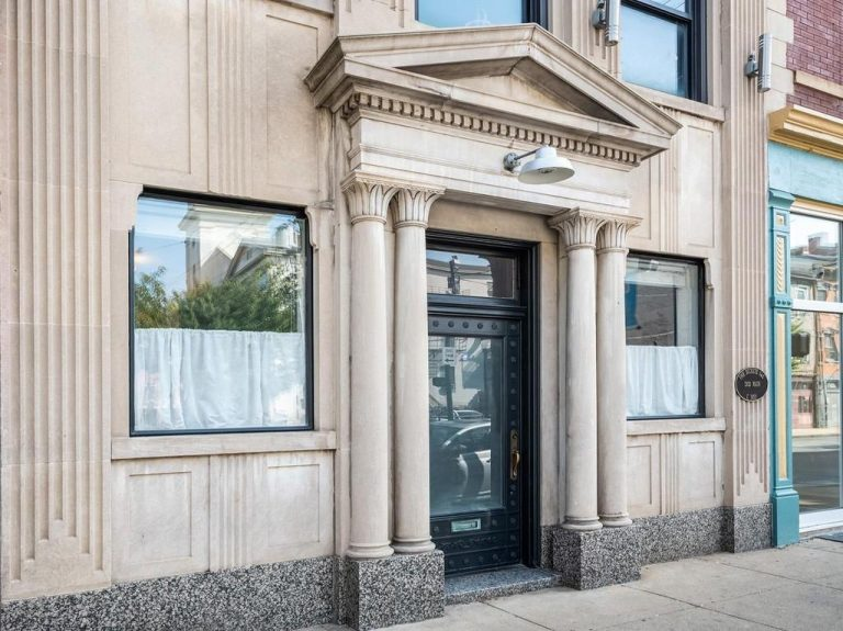 This Renovated OTR Home Was Once a Local Bank