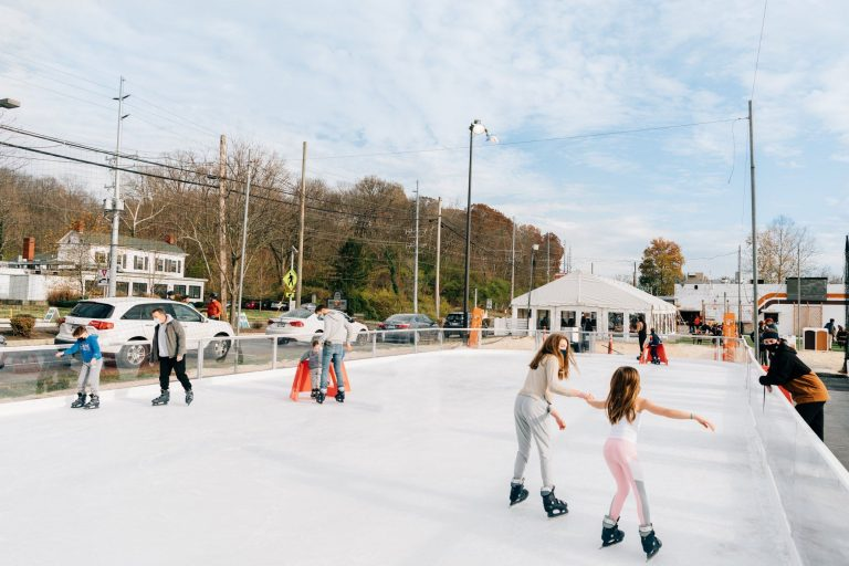 Four Outdoor Ice Skating Rinks to Check Out This Winter