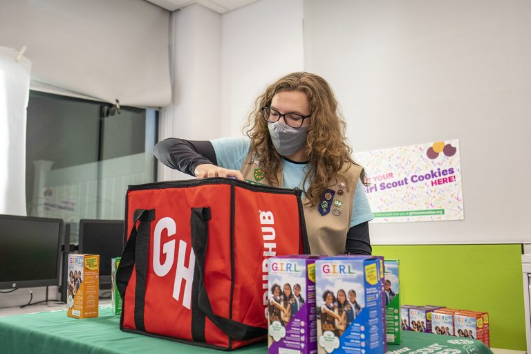 Kentucky Girl Scouts Partner with Grubhub So You Can Have Cookies Delivered to Your Doorstep